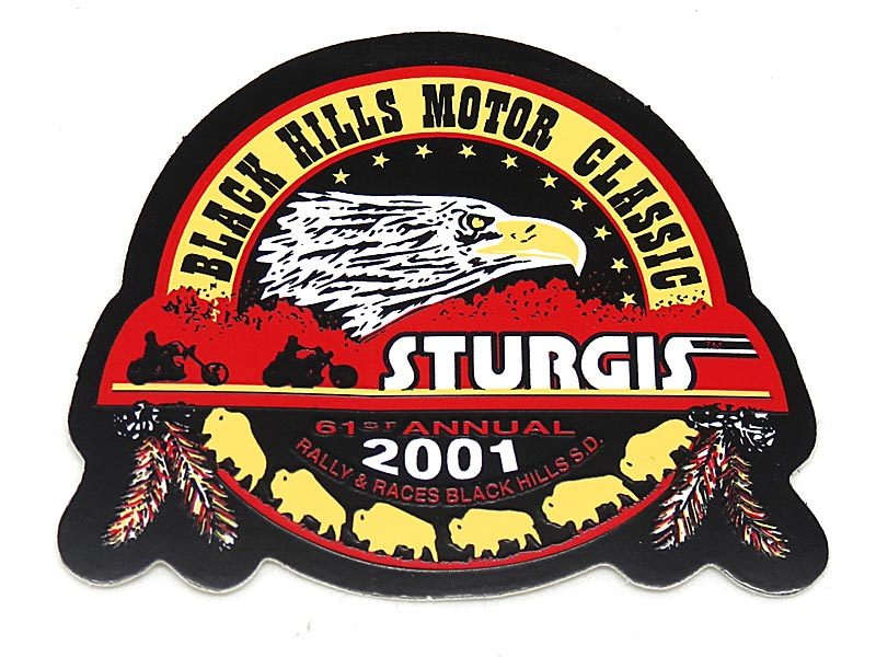 Black Hills Rally And Gold Sturgis Official Logo