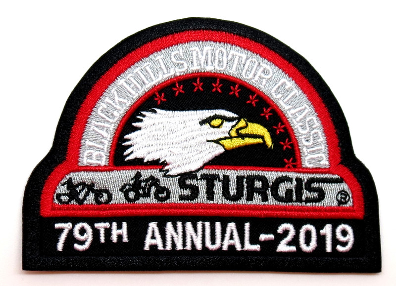 Black Hills Rally And Gold Sturgis Official Logo Patch